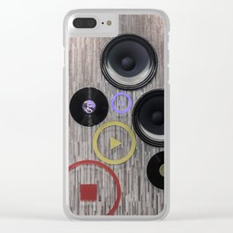 Speak to Me Clear iPhone Case