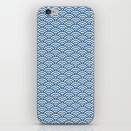 """Seigaiha"" Japanese traditional pattern iPhone Skin"