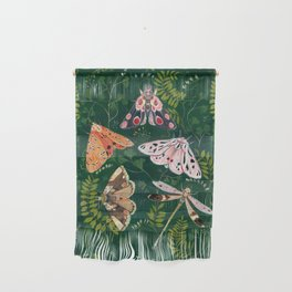 Moths and dragonfly Wall Hanging