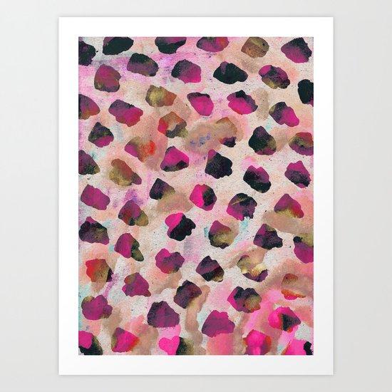 Colour and Sound Art Print
