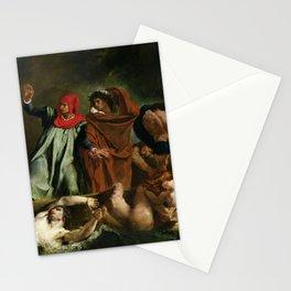 Eugne Delacroix - The Barque of Dante Stationery Cards