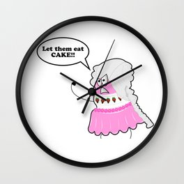Marie Cake-toinette Wall Clock