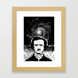 A Portrait of Poe—Into the Maelstrom Framed Art Print