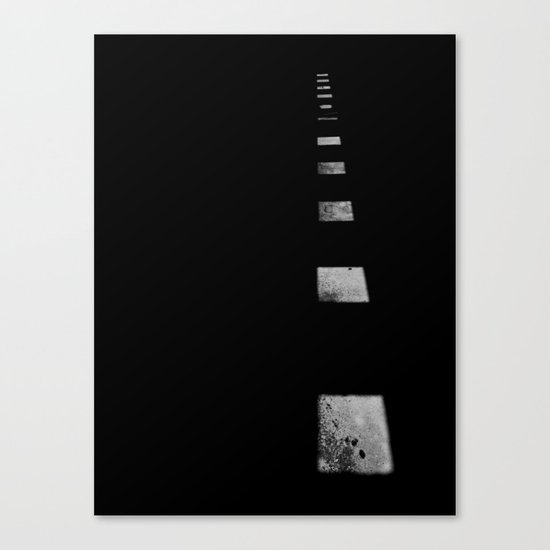 Minimalist Shadows Canvas Print