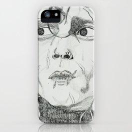 EDWARD SCISSOR HANDS iPhone Case