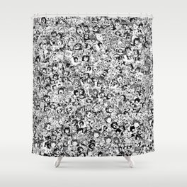 Ahegao Shower Curtain