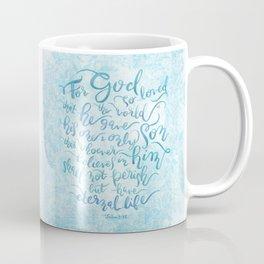 For God So Loved the World - John 3:16 Coffee Mug