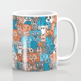 plushies retro Coffee Mug