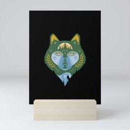 Takaya, Black Mini Art Print