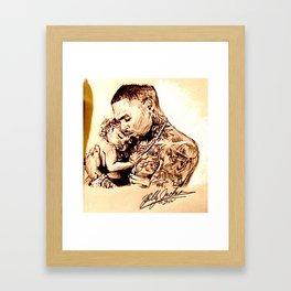 CHRIS & ROYALTY BROWN Framed Art Print