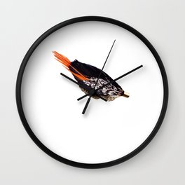 A Feather Named Macaroni Wall Clock