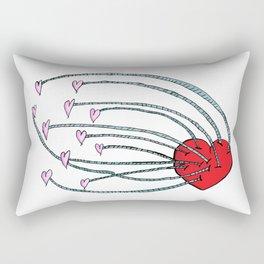 Love Feeds Love Rectangular Pillow
