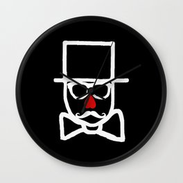 Valentines Day 2013 Collaboration with Kaviar & Cigarettes Wall Clock