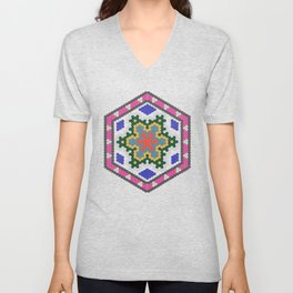Mexican Colors Unisex V-Neck