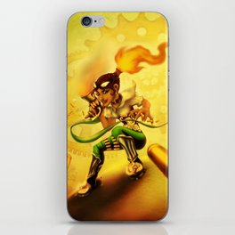 Flame Bane iPhone Skin