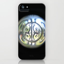 Through the Peephole iPhone Case