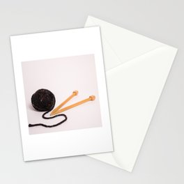 Knitting Bag Two Stationery Cards