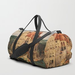 The Tower of Babel by Pieter Bruegel the Elder Duffle Bag