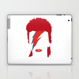 Bowie faceless Laptop & iPad Skin