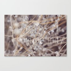 Hold Infinity Canvas Print
