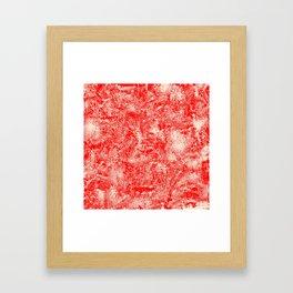Violent Texture Framed Art Print