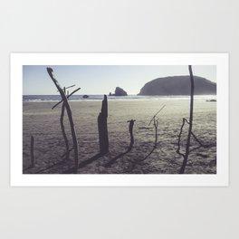 Sea Graves Art Print