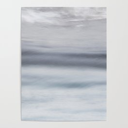 Sea motion, abstract Poster