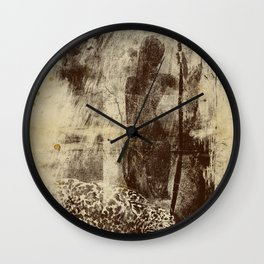 paleo warrior Wall Clock