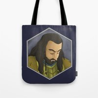 thorin Tote Bags featuring Thorin by DodoRiv