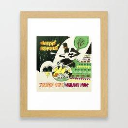 Suburban Hearts/Vigilante Hymns Album Art Framed Art Print