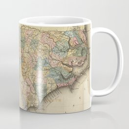 Vintage Map of North Carolina (1823) Coffee Mug