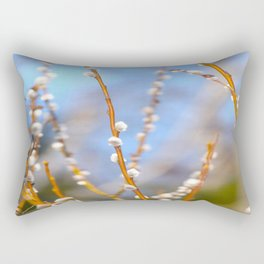 Willow Catkins Rectangular Pillow