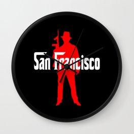 San Francisco mafia Wall Clock