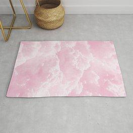 Clounds Sky Pink Rug