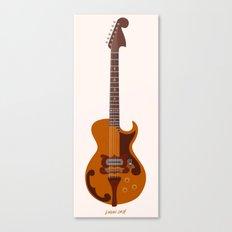 Merle Travis Bigsby Guitar Canvas Print