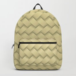 hay woven Backpack
