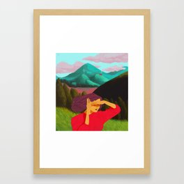 Home Is The Word You Are Looking For Framed Art Print