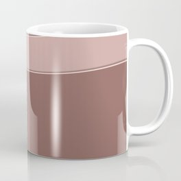Abstract geometric beige texture. Coffee Mug