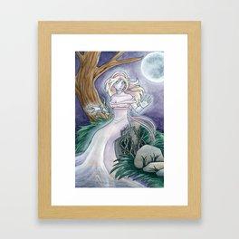 The Wild Rose Framed Art Print