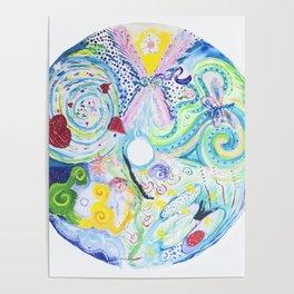 Soul Activation Mandala Poster