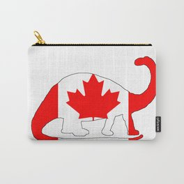 Canada Brontosaurus Carry-All Pouch