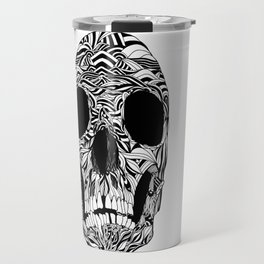 The Carved Skull Travel Mug
