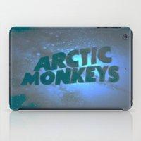 arctic monkeys iPad Cases featuring Arctic Monkeys by SLIDE