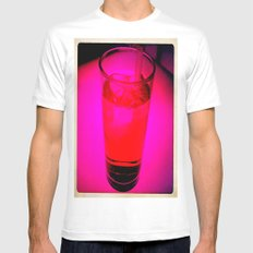 Pink Drink Mens Fitted Tee MEDIUM White