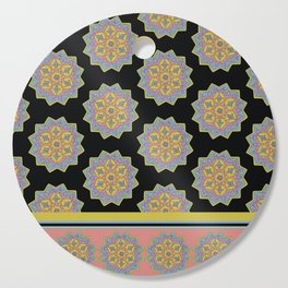 Iranian Tile with Border Cutting Board