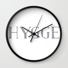HYGGE Wall Clock