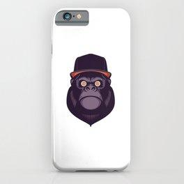 Hypno Gorilla iPhone Case