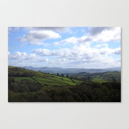 View from Orrest Head, The Lake District - Landscape and Nature Photography Canvas Print