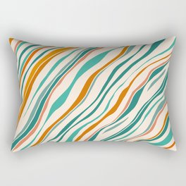 Southwest Abstract Rectangular Pillow