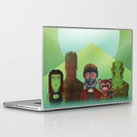 guardians of the galaxy Laptop & iPad Skins featuring Guardians of the Galaxy by Casa del Kables